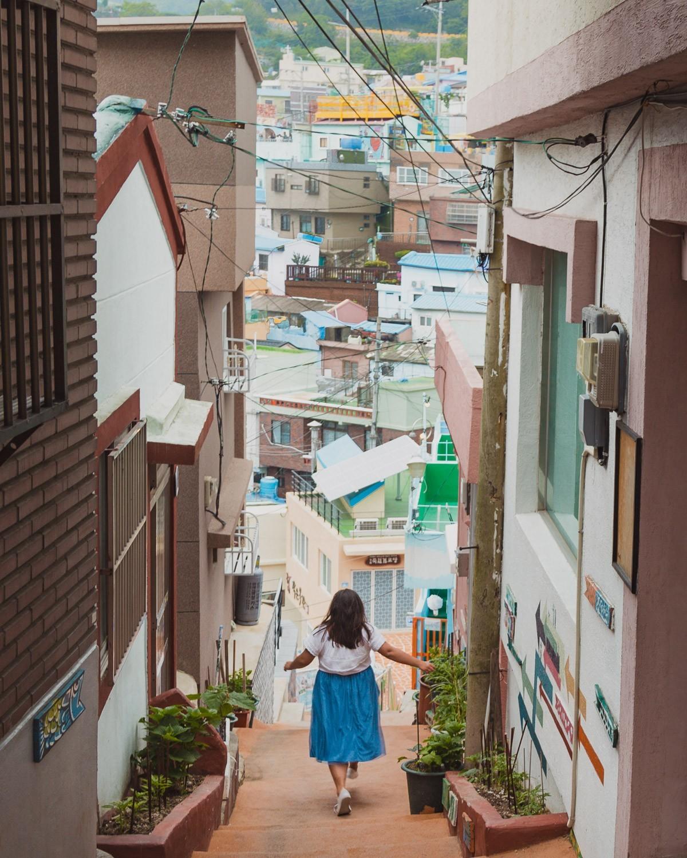Gamcheon Culture Village, a Colorful Neighborhood in Busan, Korea