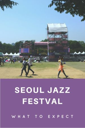 All about Seoul Jazz Festival, a yearly festival in Korea's capital city that celebrates good music (not always jazz ;)) and good weather.