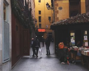 San Gines Chocolateria, Madrid, Spain
