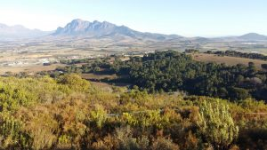 Paarl, South Africa from Afrikaans Language Monument