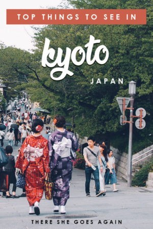 Wondering what to see in Kyoto, Japan on your first trip? Here are all the top things to do! #kyoto #japan #thingstodoinkyoto #japantravel
