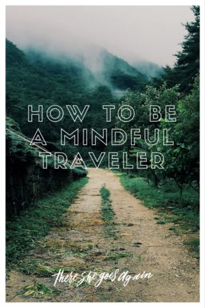 In today's day and age where we're made more aware of our surroundings, there's no excuse be not be a mindful traveler. Here's how to be one.