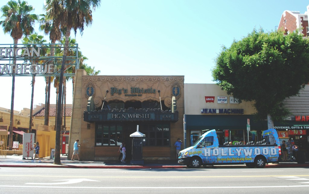 Pig n Whistle, Hollywood Boulevard
