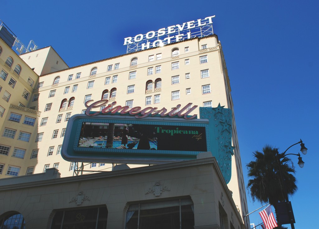 Roosevelt Hotel, Hollywood Boulevard