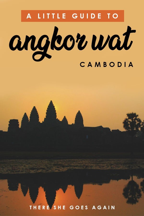 Visiting Angkor Wat? Here's what to expect and a guide to the different temples! #angkor #angkorwat #cambodia #cambodiatravel
