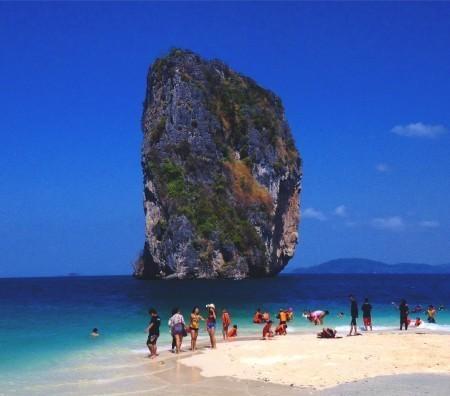 Island Hopping in Krabi, Thailand