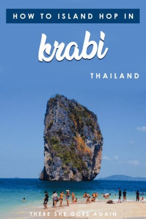 The best thing to do in Krabi is to go island hopping! Here's what to expect and how to go! #krabi #aonang #krabitravel #thingstodoinkrabi #thailand