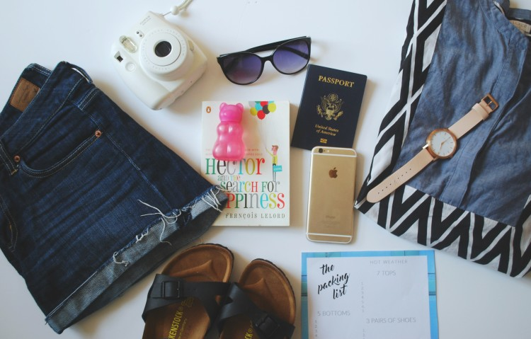 Headed towards a beach destination? Here's your packing list for travel to hot climates based off my packing for Vietnam. Printable even included!