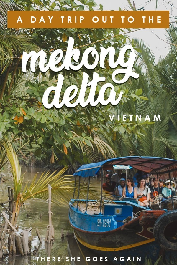 If you visit Ho Chi Minh City, don't miss doing a trip out to the Mekong Delta. Here's what to expect! #mekongdelta #vietnam #vietnamtravel #thingstodoinvietnam
