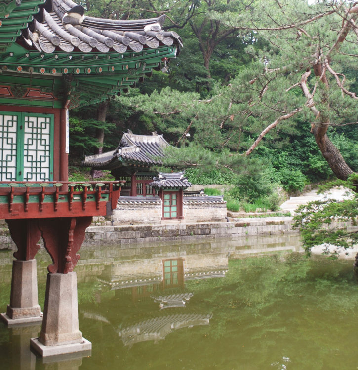 secret garden changdeokgung reflections