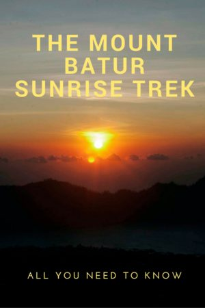Curious about the famous Mount Batur sunrise trek? Here's all you need to know about our adventurous sunrise tour along this gorgeous volcano in Bali.