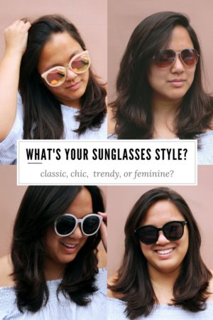 The easiest way to stay stylish while traveling? Sunglasses! Check out our different sunglasses style, and let us know what's yours!