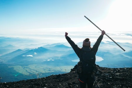 While photos of it are practically iconic, have you ever thought about hiking Mt Fuji? I had my friend share her experience climbing this famous volcano!