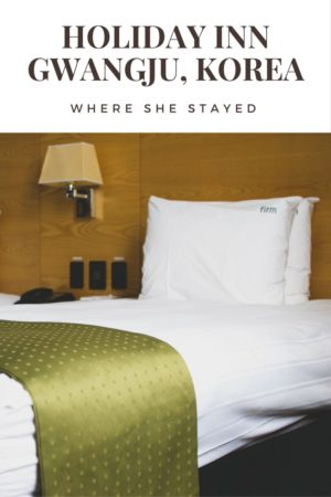 Check out the latest in Where She Stayed-- Holiday Inn Gwangju. Fun exterior, a ton of amenities, and, my favorite, a waterfall showerhead! #sponsored