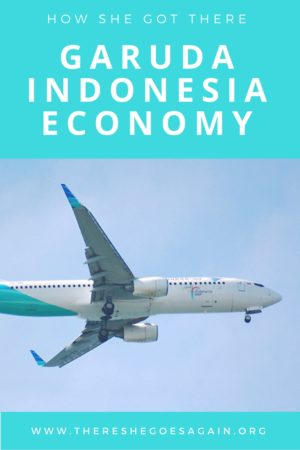 May have fallen a little in love with the Garuda Indonesia Economy experience. Felt more like first class than coach, and I was more than impressed!
