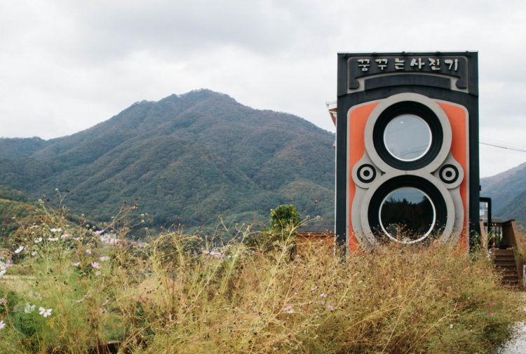 About 40 miles away from Seoul lies the Dreamy Camera Cafe, a place that wants to do more than serve you coffee.
