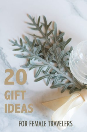 Need some ideas on what gifts to get for the female traveler in your life?