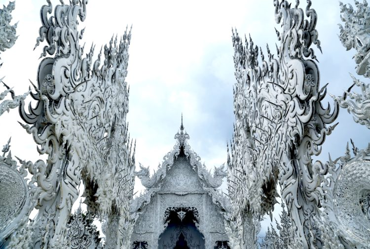 Chiang Rai Wat Rong Khun   Northern Thailand's main city is well worth the visit! Here are all the top things to do in Chiang Mai and two things you should NOT do.