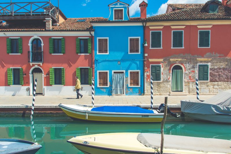 Burano, Italy   Willemstad, Curacao   most colorful places in the world
