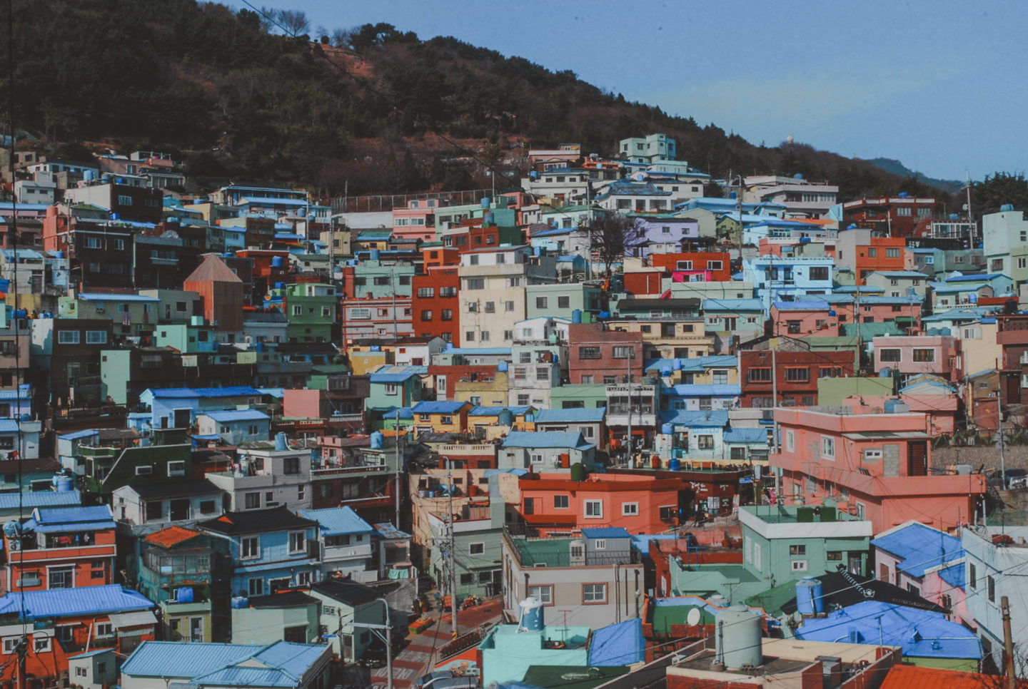 Gamcheon Culture Village, Busan, South Kore | most colorful places in the world
