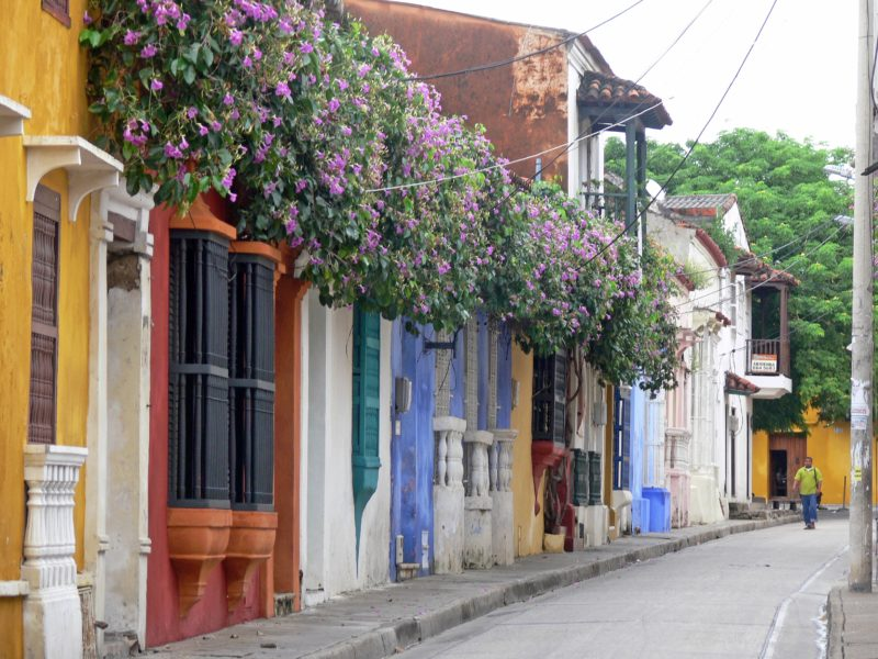 Cartagena, Colombia | Willemstad, Curacao | most colorful places in the world