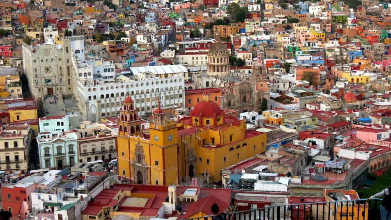 Guanajuato, Mexico | Willemstad, Curacao | most colorful places in the world
