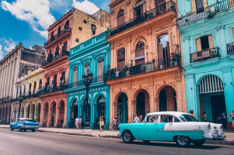 Havana, Cuba | Willemstad, Curacao | most colorful places in the world