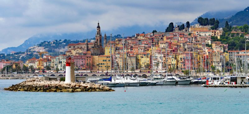Menton, France | Willemstad, Curacao | most colorful places in the world