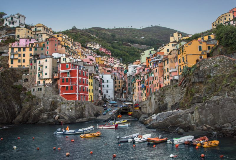Cinque Terre, Italy | Willemstad, Curacao | most colorful places in the world