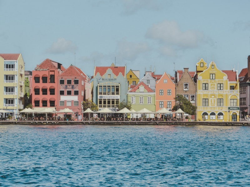 Willemstad, Curacao | most colorful places in the world
