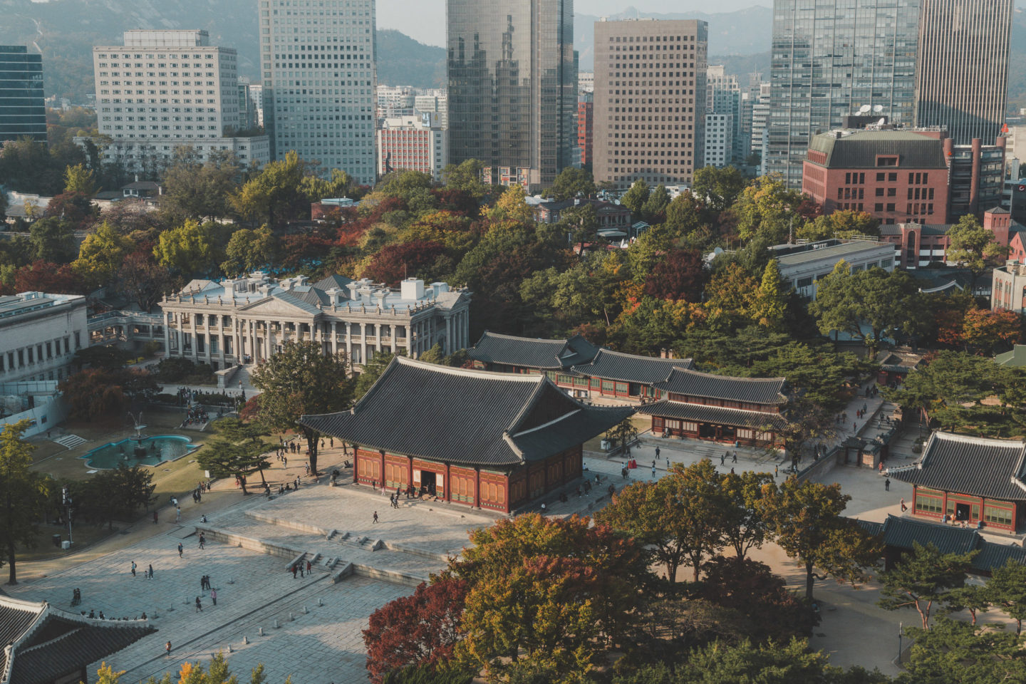 Get an Aerial View of Deoksugung Palace - There She Goes Again