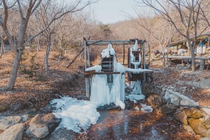 winter at jogyesan
