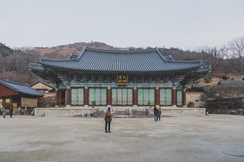 songgwangsa temple in jogyesan