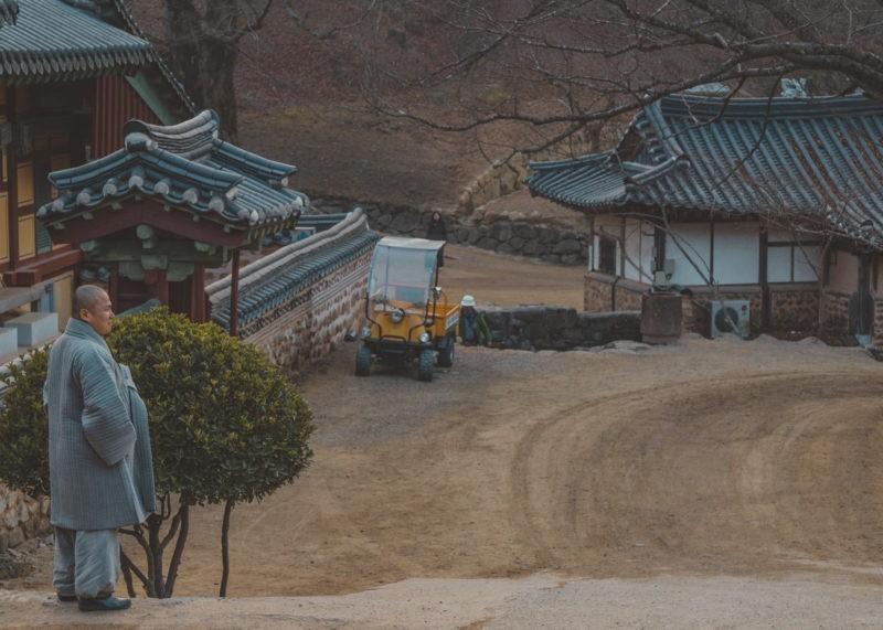 songwangsa buddhist monk