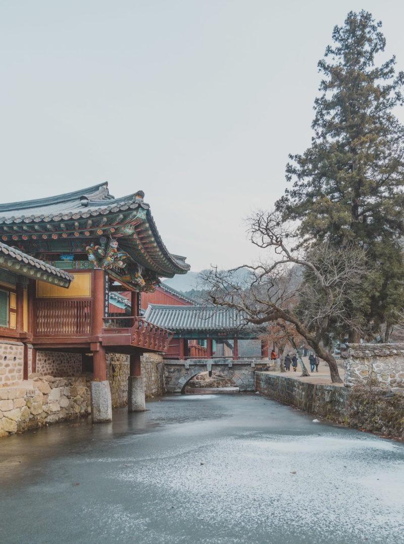 winter at songgwangsa