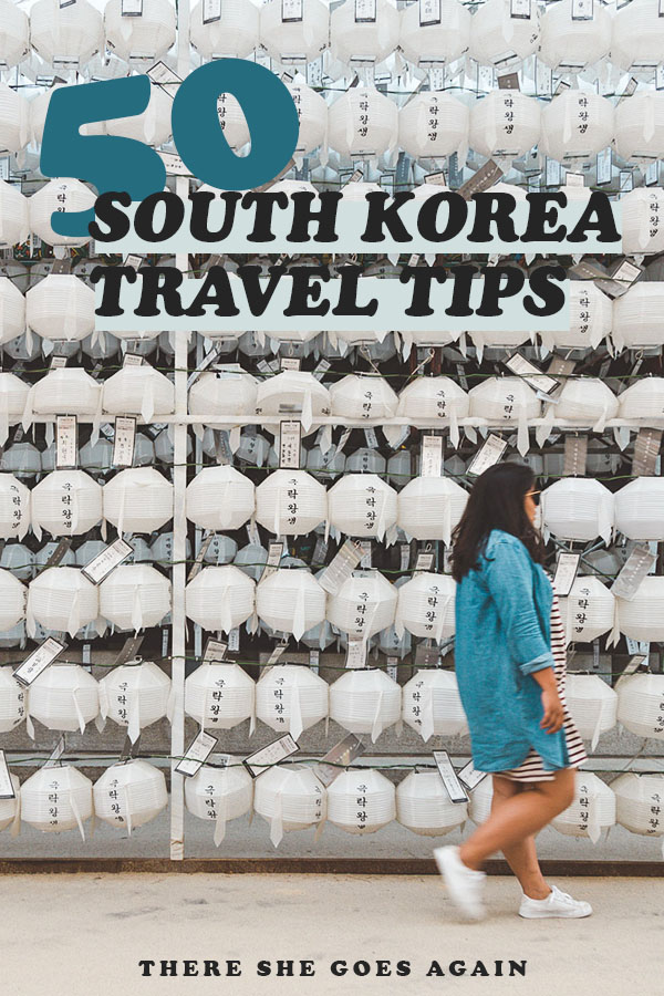 Here are 50 South Korea travel tips to help you plan your trip! #korea #southkorea #koreatravel #asia #eastasia