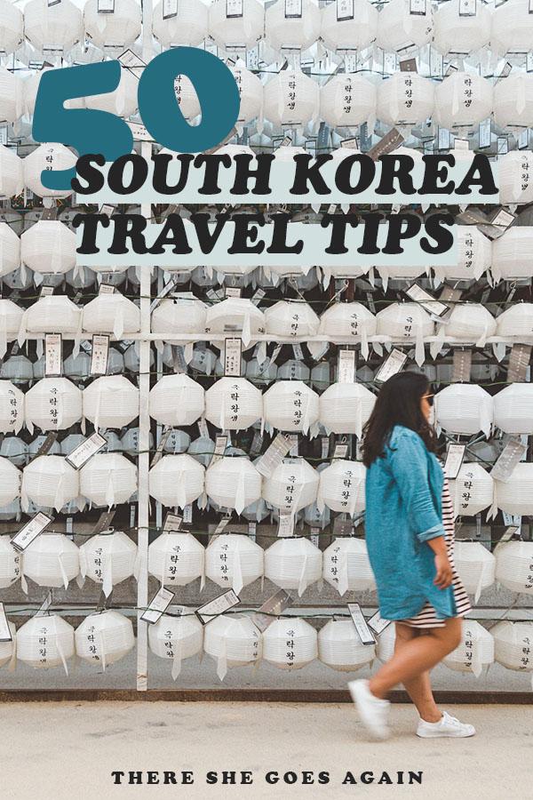 Here are 50 South Korea travel tips to help you plan your trip! #korea #southkorea #koreatravel #asia #eastasia