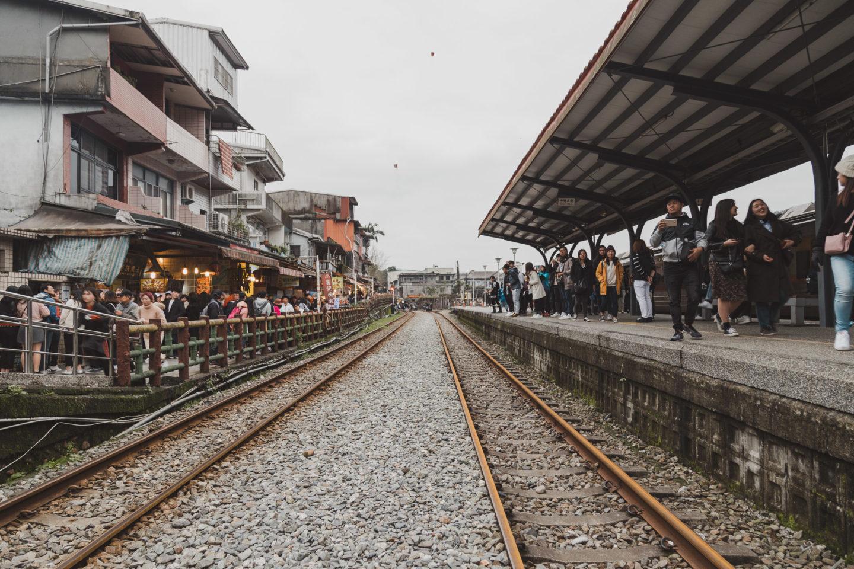 shifen station and shifen old street