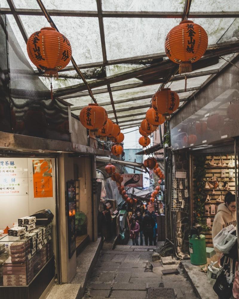 jiufen night market
