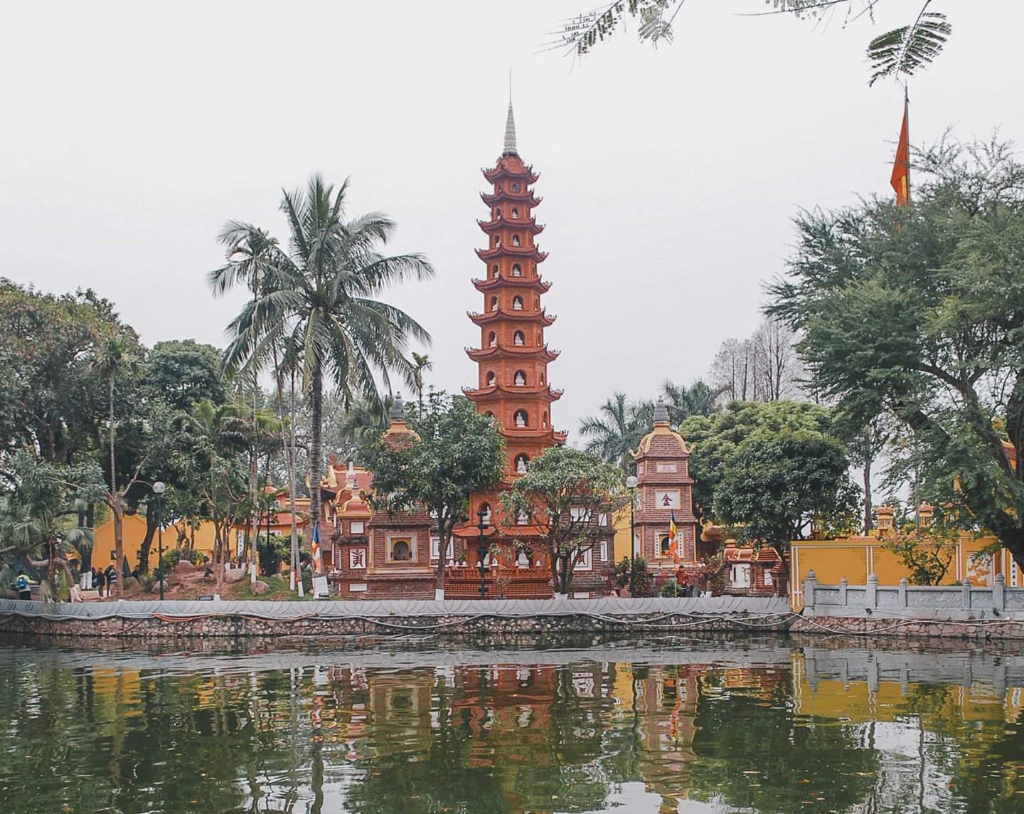 Tran Quoc Pagoda - Things to Do in Hanoi