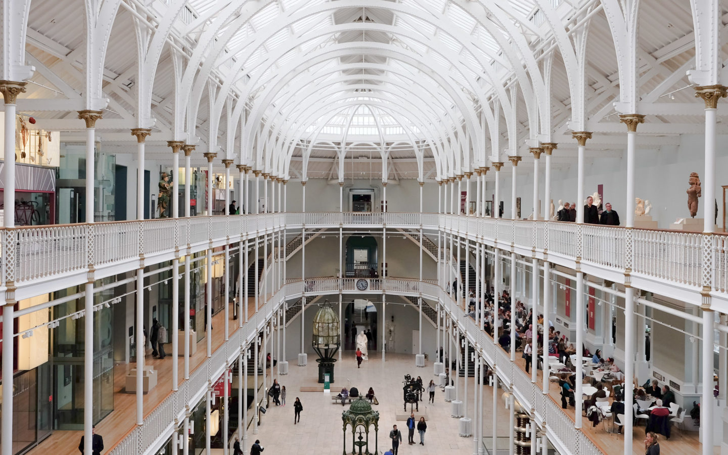 Interior of the National Museum of Scotland