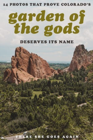 If you visit Colorado, you do NOT want to miss a visit to the Garden of the Gods near Colorado Springs and Denver. Here are 14 breathtaking photos to show you why. #gardenofthegods #coloradosprings #colorado #coloradotravel #usa #usatravel #usawest