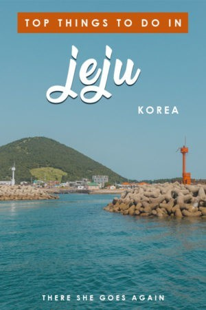 Here are the top things to do in Jeju island from where to hike, what to visit, and more! #jeju #jejukorea #southkorea #thingstodoinjeju
