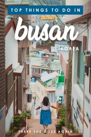 ALL the top things to do in Busan, from Gamcheon Culture Village to Jalgachi Fish Market and more! #busan #korea #thingstodoinbusan