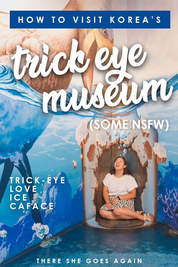 One of the quirkiest things to do in Seoul and Korea is to visit the Hongdae Trick Eye Museum! Here's a full guide on what to expect! Some NSFW, you've been warned! #hongdae #seoul #thingstodoinseoul #korea #koreatravel