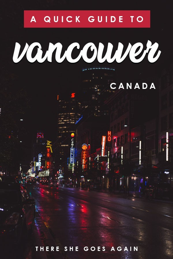 Planning a trip to Vancouver and aren't sure of some details? Here's a quick travel guide so you know what to expect! #vancouver #vancouvertravel #canada #canadatravel