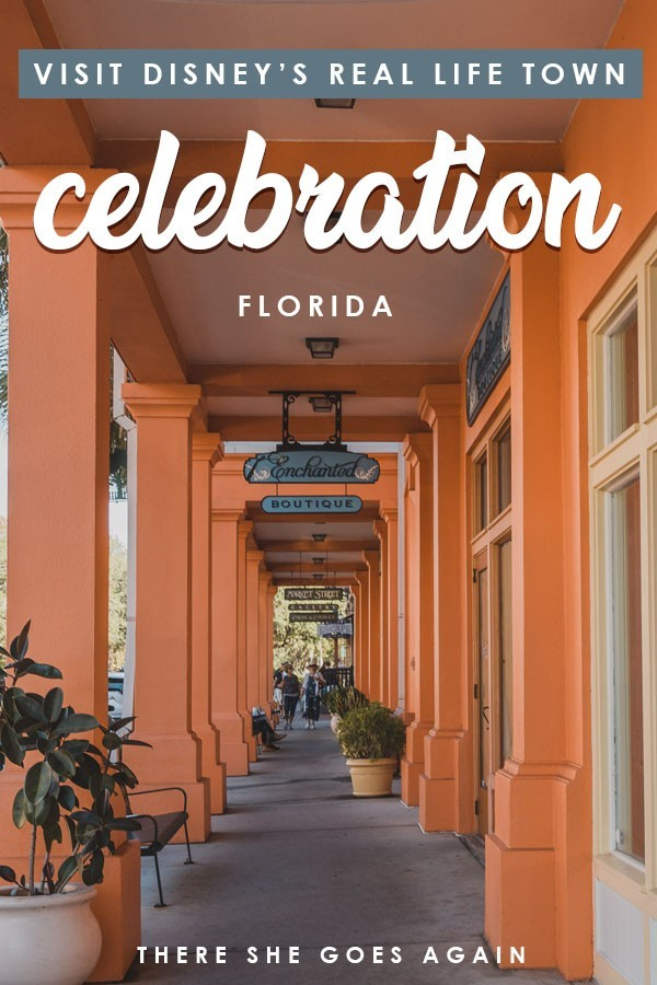 Did yo know there's a real life Disney town where people live? Here's why you need to visit the charming Celebration in Florida! #floridatravel #celebration #disney