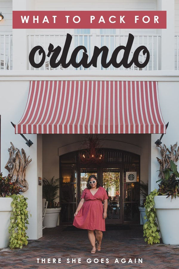 Here's all you want to include on your Orlando packing list. #florida #orlando #orlandotravel #packinglist #visitflorida #floridatravel