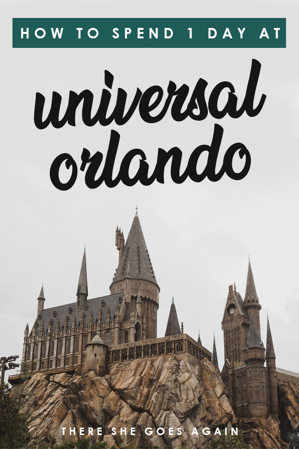 Wondering how to spend 1 day at Universal Orlando? Here are all the top things to do! #universalstudios #universalorlando #harrypotterworld