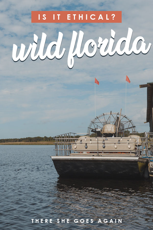 Wild Florida is known for its airboat tours and its wildlife park. But the question is -- is it ethical? Here's what I've learned.